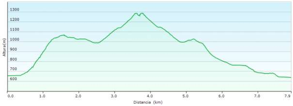 Perfil - Subida al Maigmó por la cresta del Cantal del Pixador
