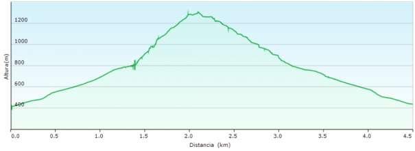 Perfil - Vía de escalada clásica en el Puig Campana y subida al Pic Prim