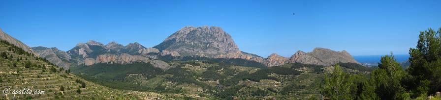 Vista del Puig Campana