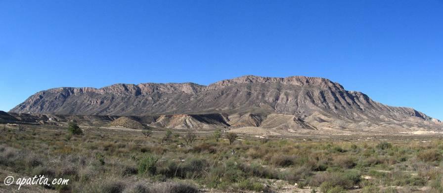 Vista de la sierra de Fontcalent
