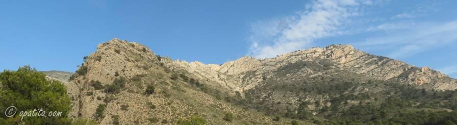 Vista de la cresta de l'Estret