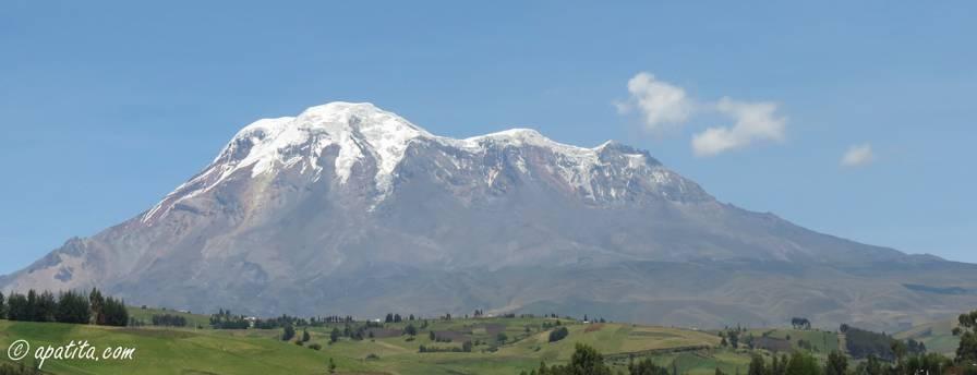 Vista del Chimborazo