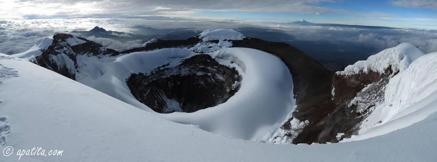 Cráter del Cotopaxi