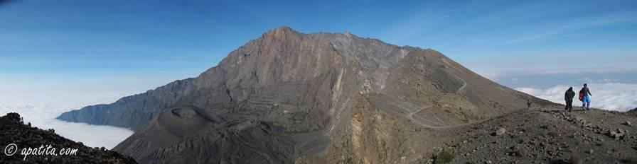 Vista del monte Meru desde Rhino Point