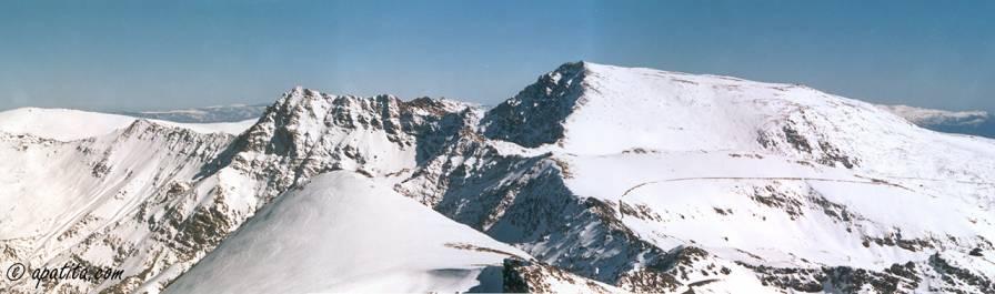 Vista de Sierra Nevada desde el Veleta