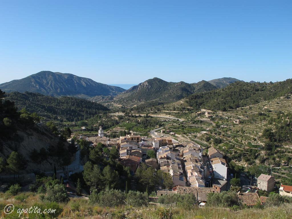 Sella y el Puig Campana