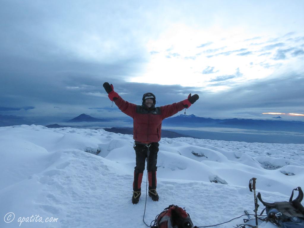 Cima del Chimborazo