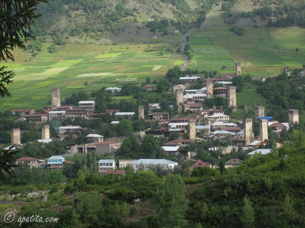 Mestia, valle de Svaneti