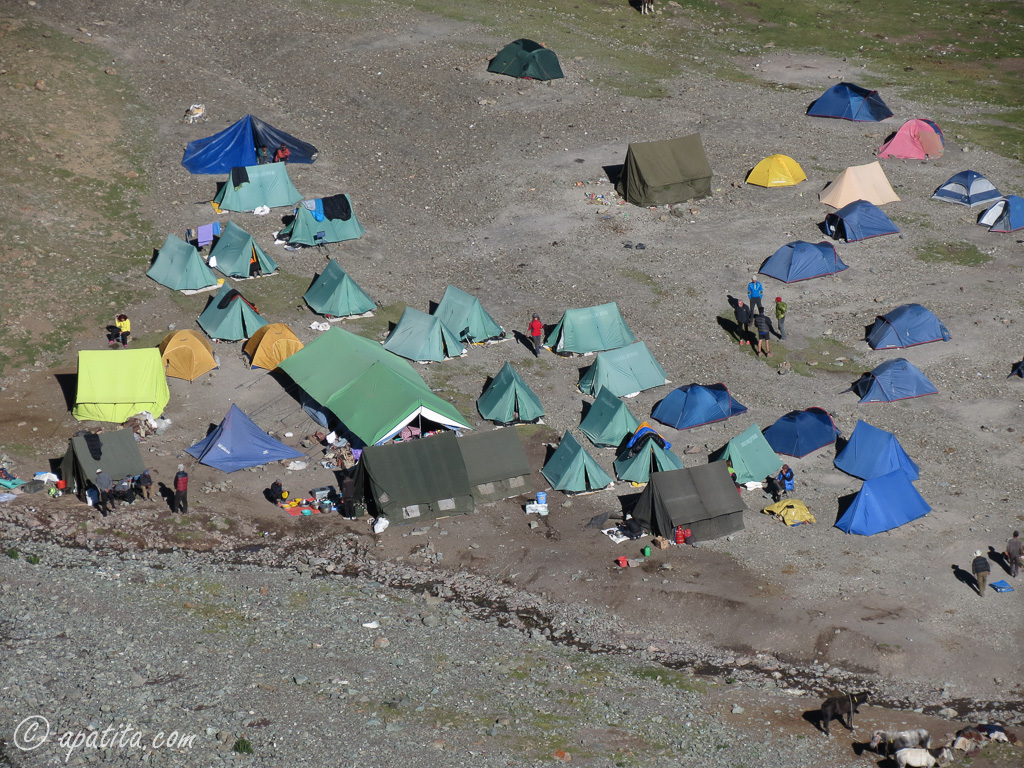 Campo base del Stok Kangri
