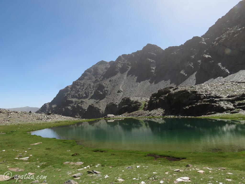 Laguna de la Mosca y Alcazaba