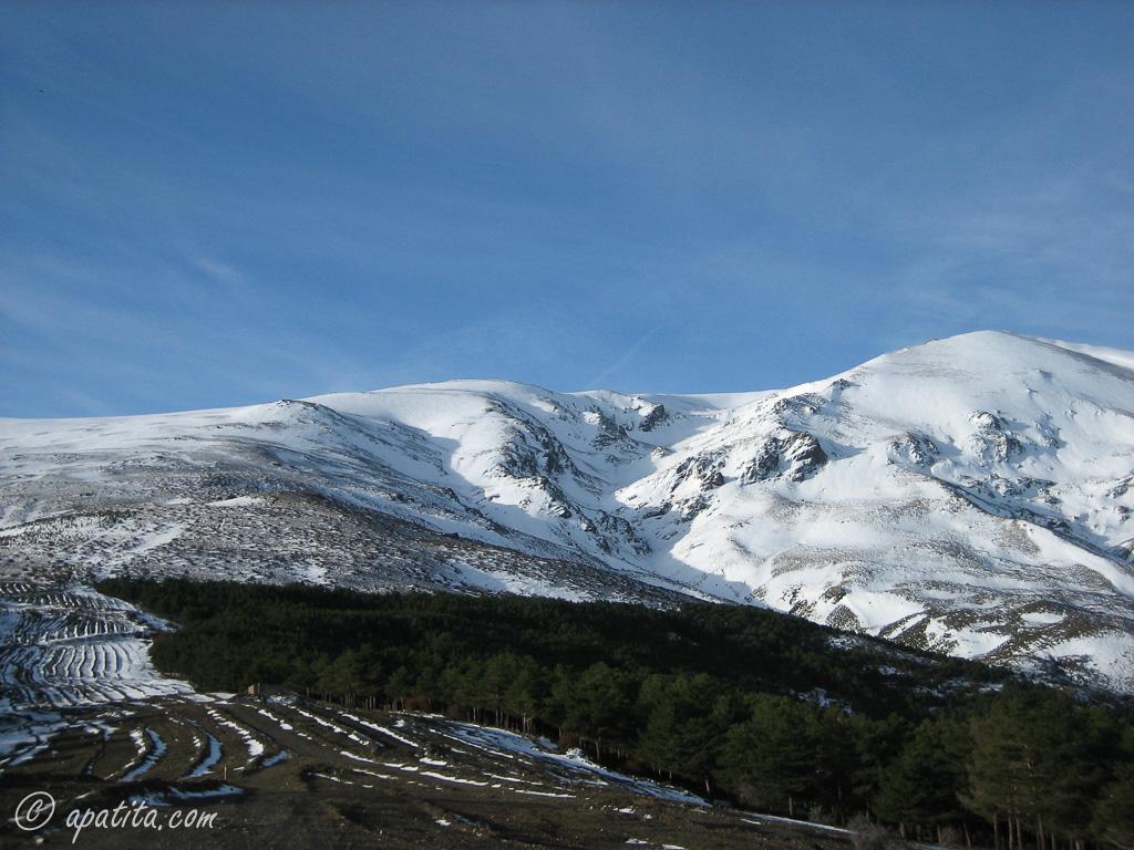 Vista del barranco del Alhorí