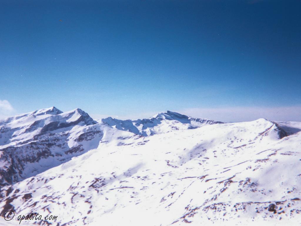 Vista de Sierra Nevada desde Cerro Pelado